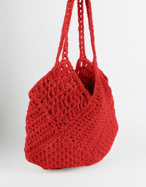 Piazza shoulder bag mt lipstick red