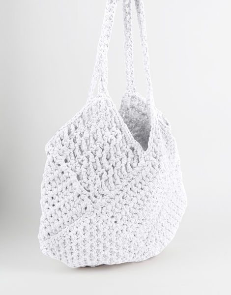 Piazza shoulder bag mt white noise %282%29