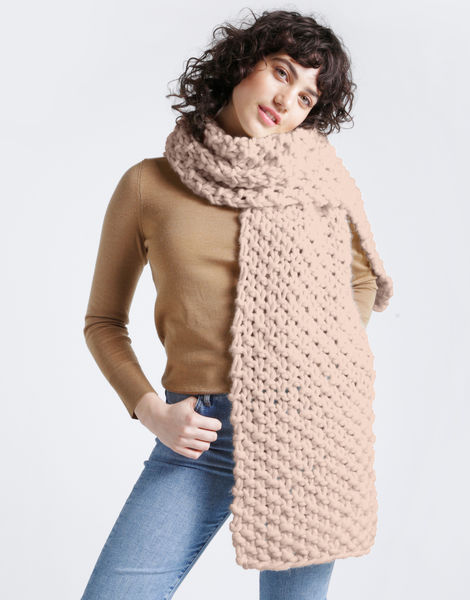 Rushmore scarf csw cameo rose
