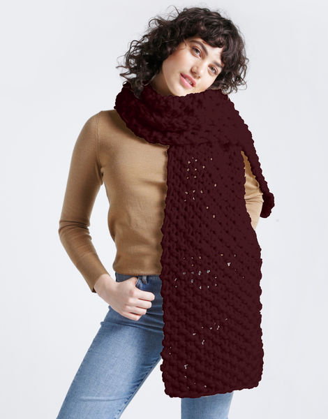 Rushmore scarf csw bordeaux