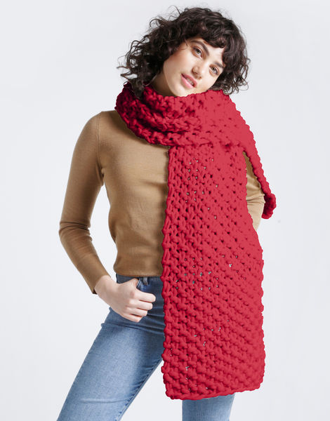 Rushmore scarf csw candy red