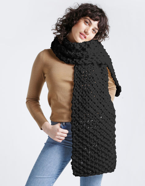 Rushmore scarf csw charcoal