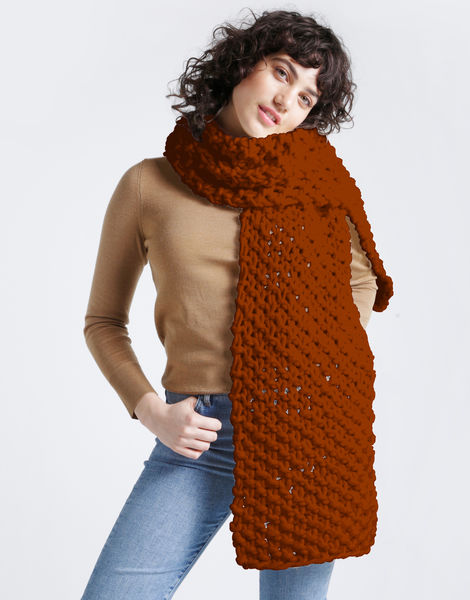 Rushmore scarf csw cinnamon dust
