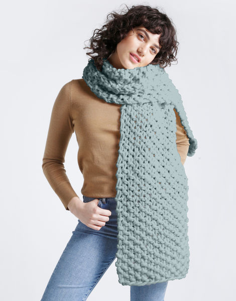 Rushmore scarf csw duck egg blue
