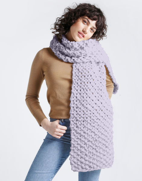 Rushmore scarf csw lilac powder
