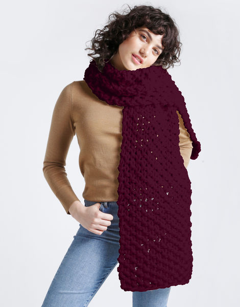 Rushmore scarf csw margaux red