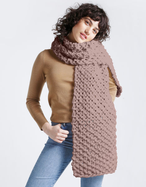 Rushmore scarf csw mellow mauve