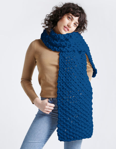 Rushmore scarf csw sherpa blue