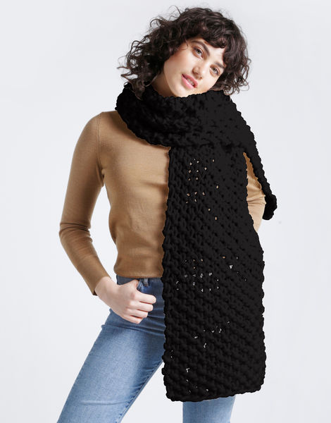 Rushmore scarf csw space black