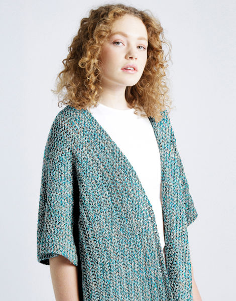 Rose cardigan shc blue water