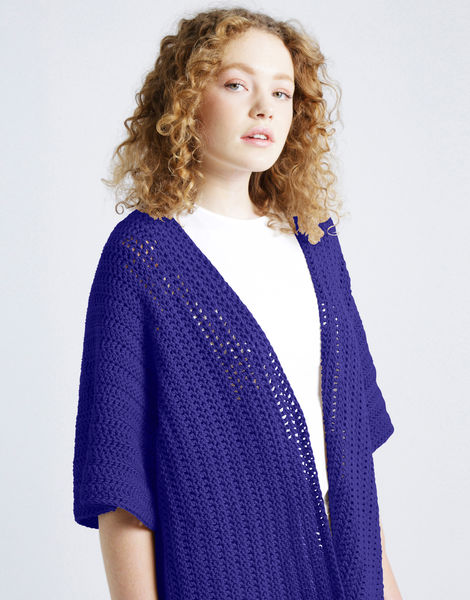 Rose cardigan shc ultra violet