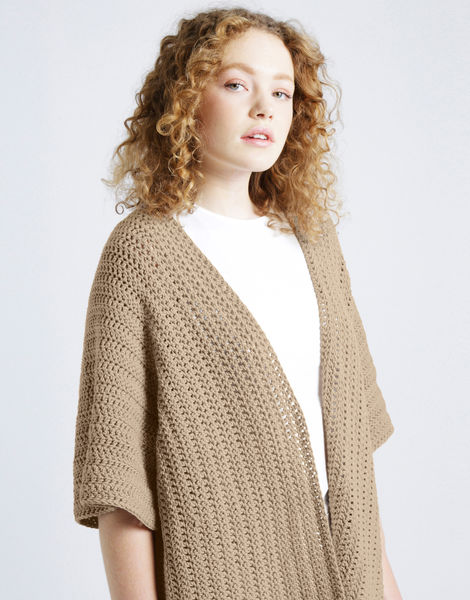 Rose cardigan shc timber wolf
