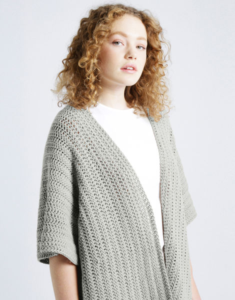 Rose cardigan shc jog grey