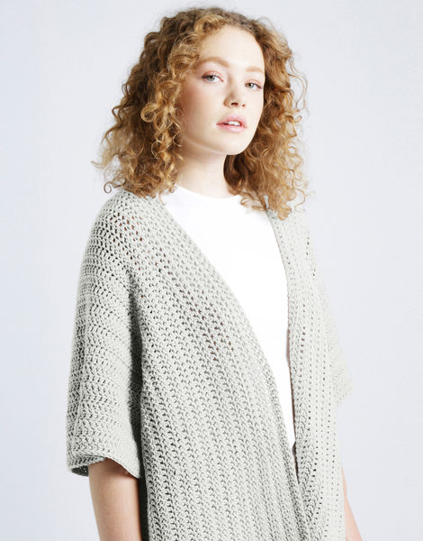 Rose cardigan shc white noise