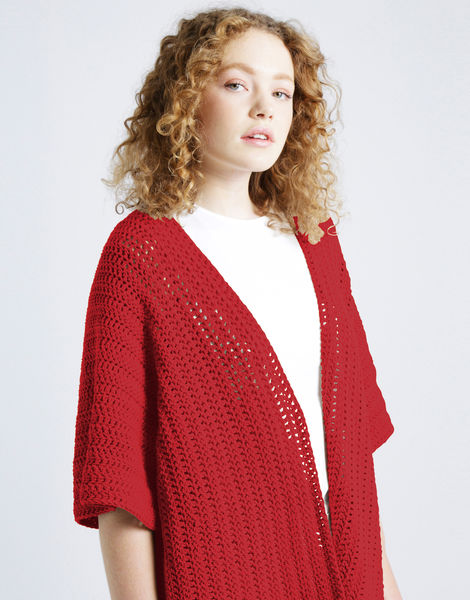 Rose cardigan shc coral crush
