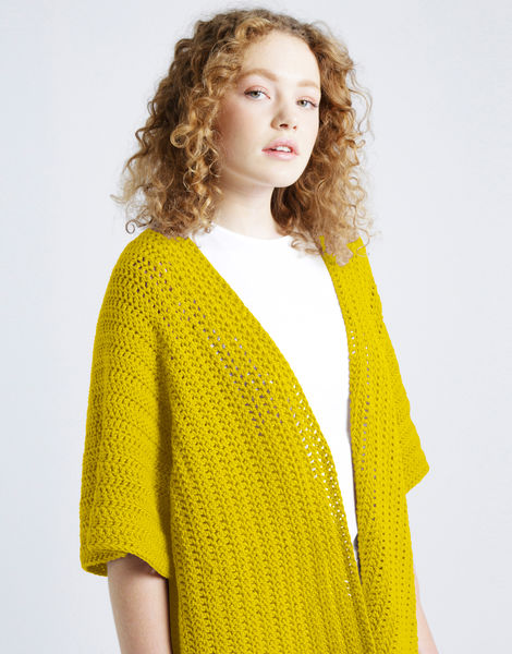 Rose cardigan shc yellow brick road