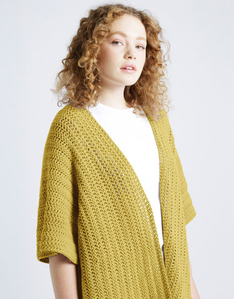 Rose cardigan shc chalk yellow