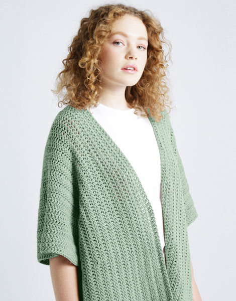 Rose cardigan shc spearmint green