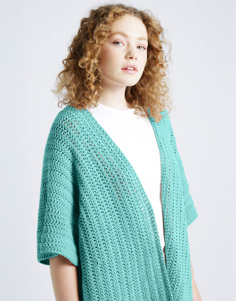 Rose cardigan shc magic mint