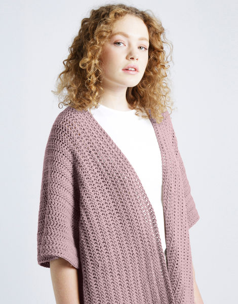 Rose cardigan shc mellow mauve