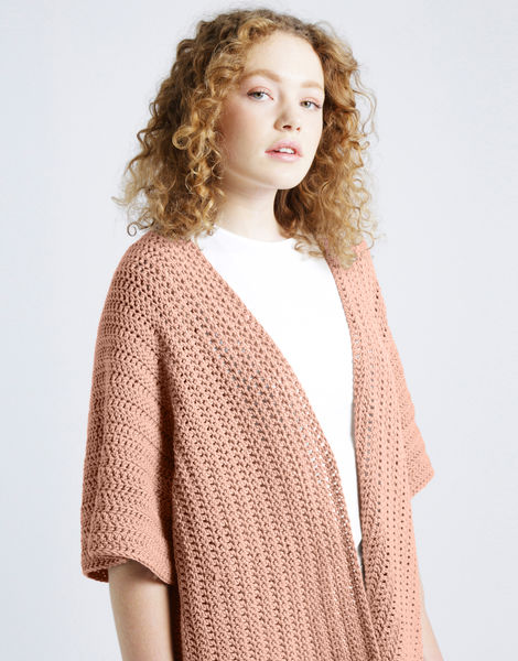 Rose cardigan shc perfect peach