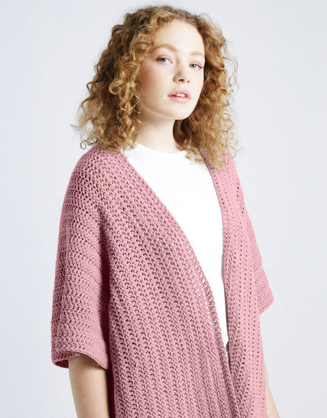 Rose cardigan shc pink lemonade