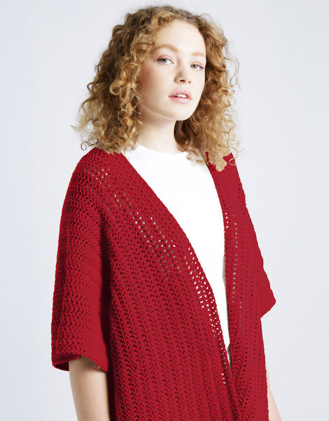 Rose cardigan shc true blood red