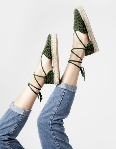 Ipanema espadrilles 14 mt army green