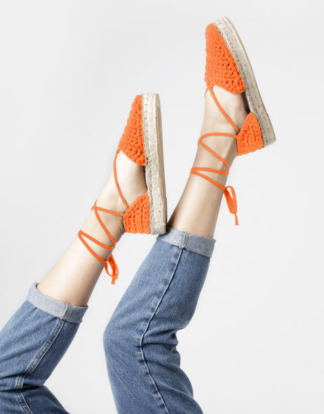Ipanema espadrilles 14 mt rusty orange