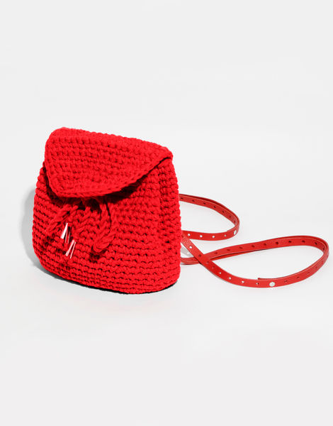 Jackson backpack mini mt lipstick red