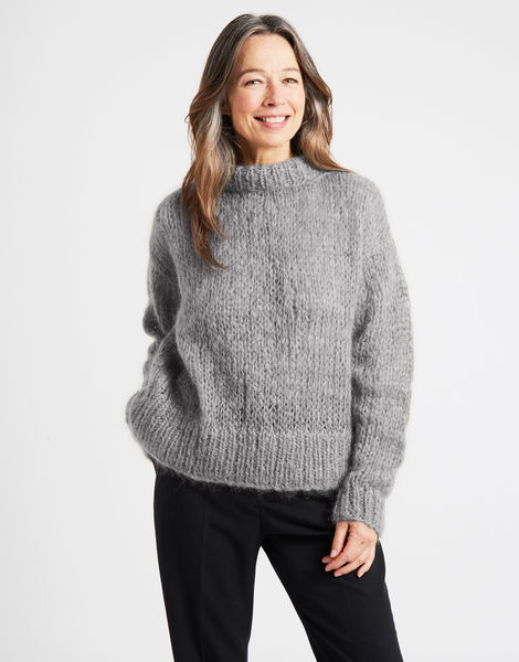 Fascination sweater tcm dusty grey %281%29