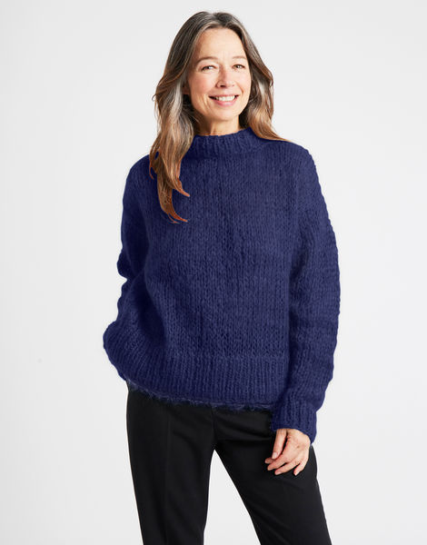 Fascination sweater tcm midnight blue