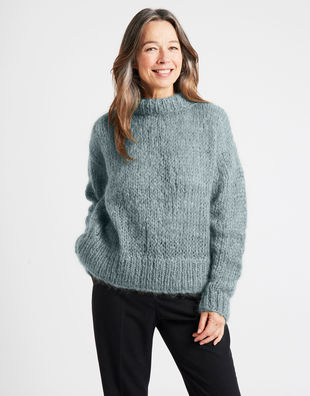 Fascination sweater tcm blue chalk