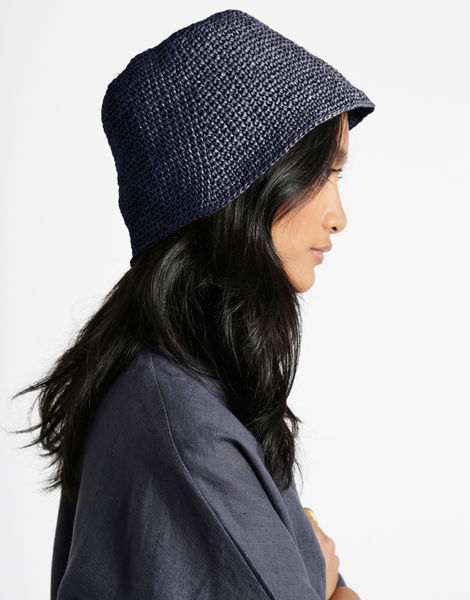 Joanne hat desert palm 3 rrr midnight blue