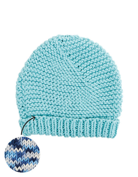 Beach bum beanie shc breathing space blue