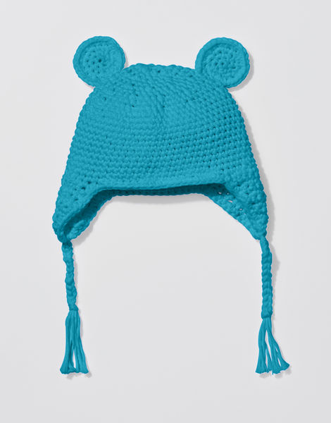 Buster bear beanie shc turquoise waters