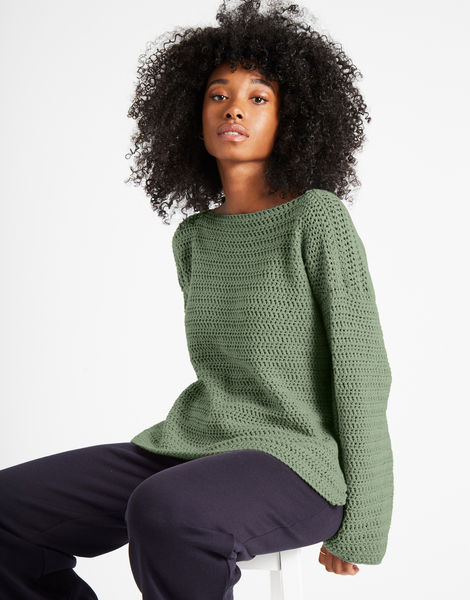 Devotion jumper shc army green