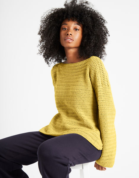 Devotion jumper shc chalk yellow