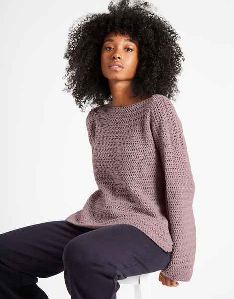 Devotion jumper shc mellow mauve