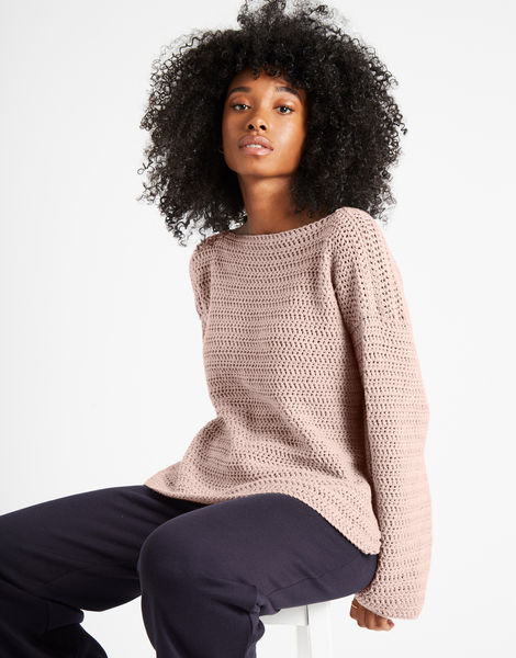 Devotion jumper shc nude pink
