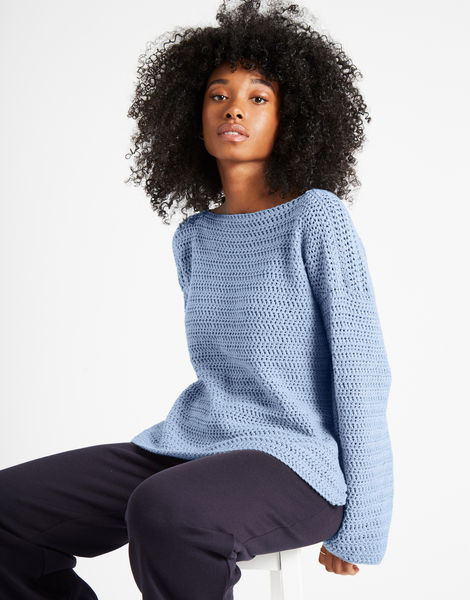 Devotion jumper shc powder blue