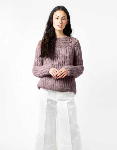 Unapologetic sweater tcm misty mauve