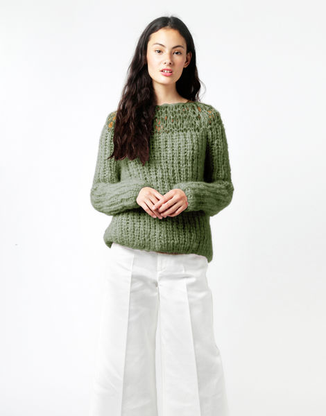 Unapologetic sweater tcm eucalyptus green