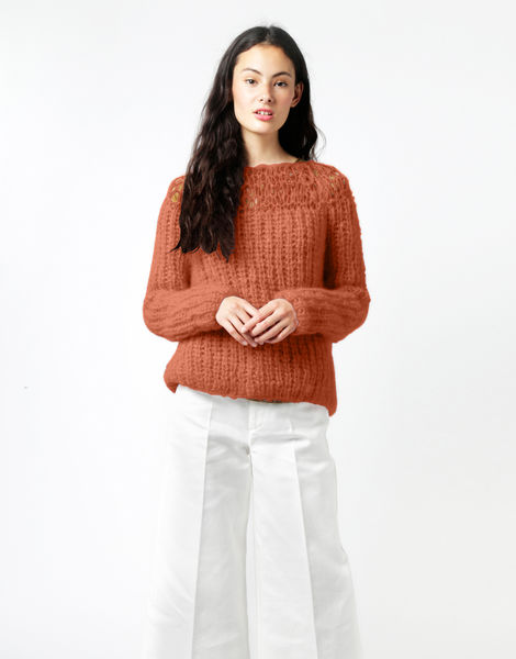 Unapologetic sweater tcm cinnamondust