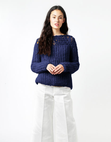 Unapologetic sweater tcm midnight blue