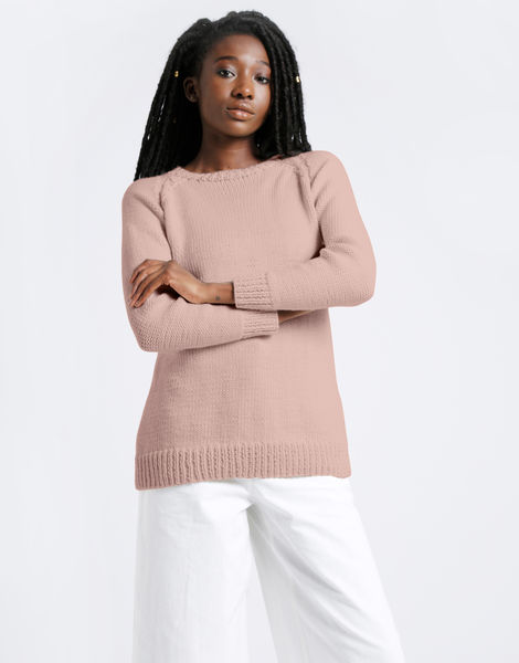 Dustin sweater shc nude pink