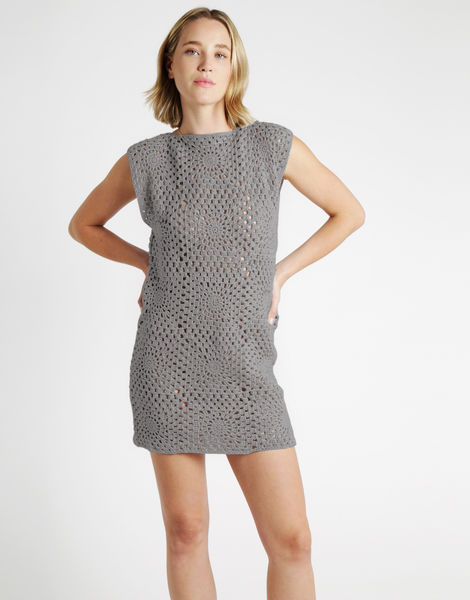 Hot in here dress tt rocky grey