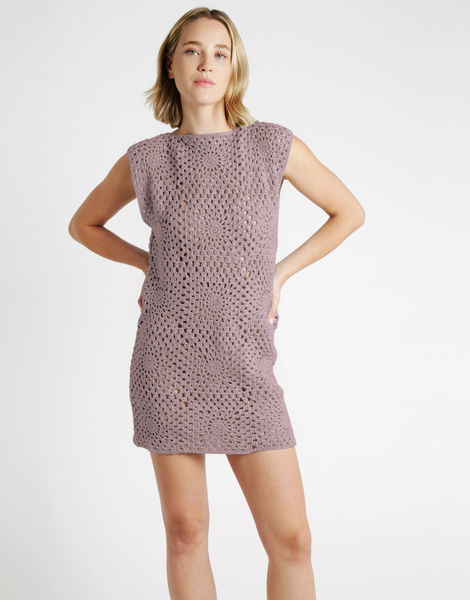 Hot in here dress tt mellow mauve