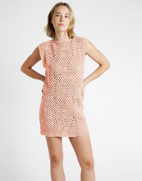 Hot in here dress tt cameo rose
