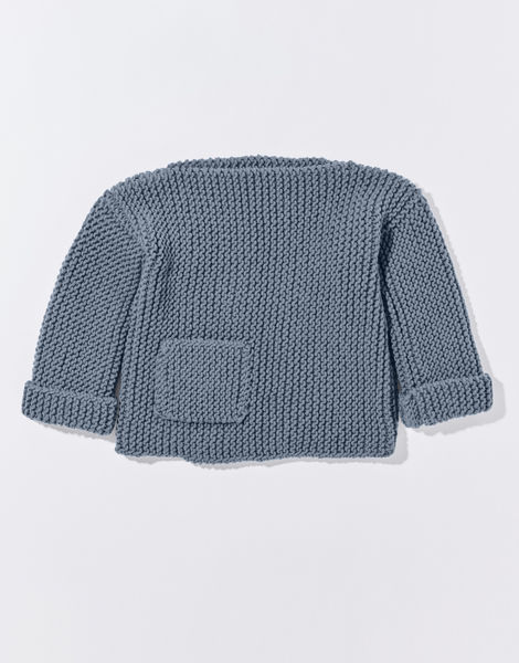 Angel eye sweater cc overhead stw slate blue